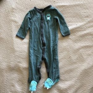 Monster Footie PJs - Baby Boy